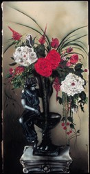 Lady of the Flowers still life floral painting